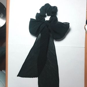 Urban Outfitters Black Scrunchie